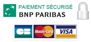 Paiement sécurisé la forge bertrand BNP PARIBAS